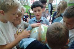 Dzień chłopaka w klasie III