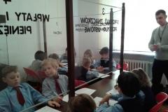 Klasa II w Muzeum Poczty