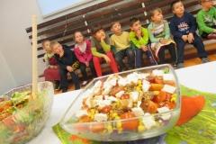 Zdrowe i smaczne powitanie wiosny w klasie I