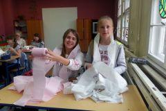 Zajęcia plastyki w klasie 6a i 6b