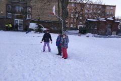 Zimowe zabawy klasy 1